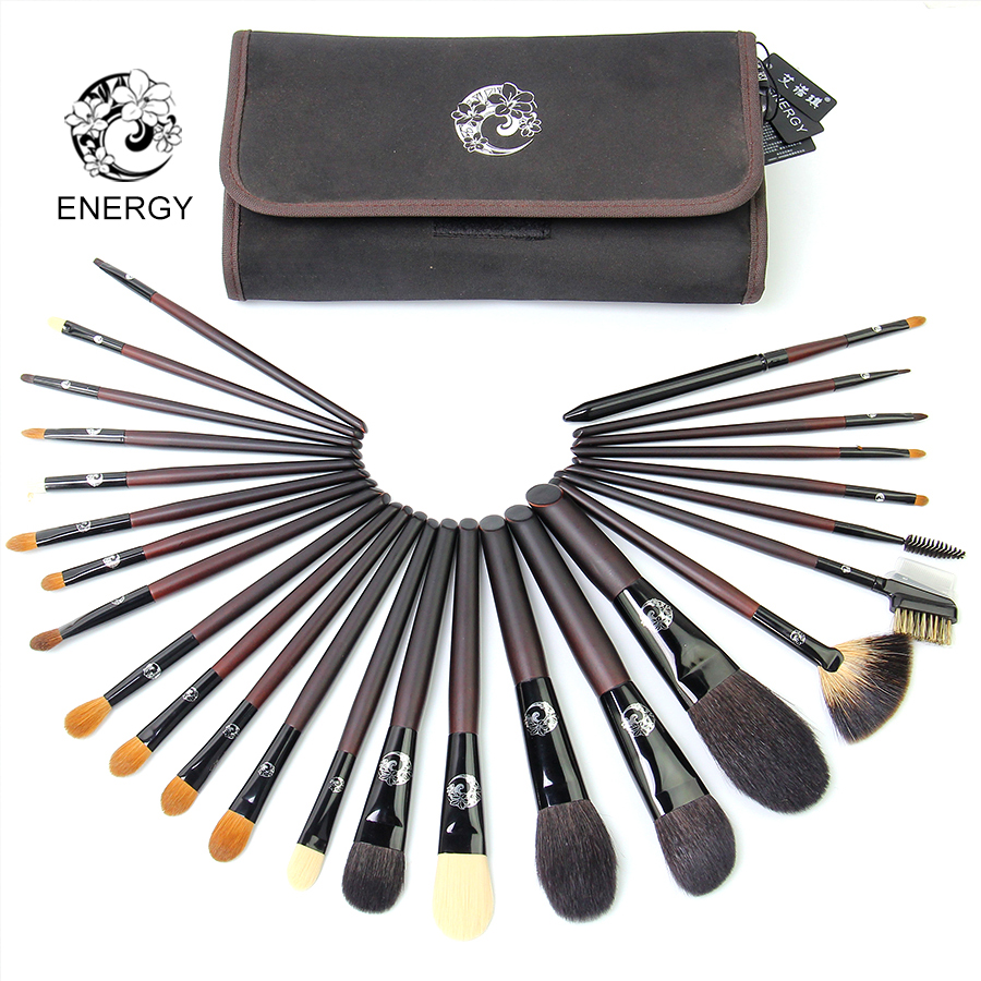 ENERGY brand 25pcs Profesionalne četkice za šminku Set Make Up - Šminka
