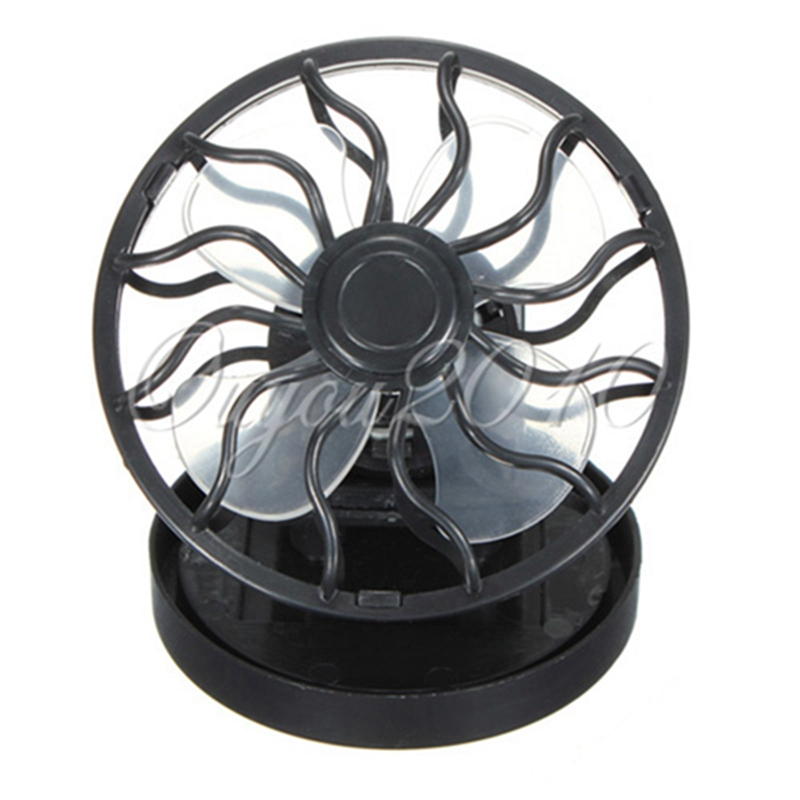 Portable energy saving Clip-on Solar Mini Micro Cell  Electric Fan Sun Power energy Panel Cooling Fan For Gaming Camping Hiking
