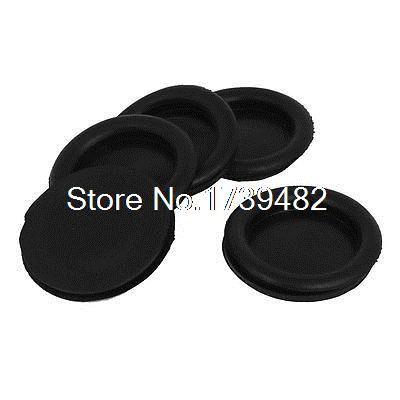 5pcs Black Rubber Closed Blind Blanking Hole Wire Cable Gasket Grommets 60mm5pcs Black Rubber Closed Blind Blanking Hole Wire Cable Gasket Grommets 60mm