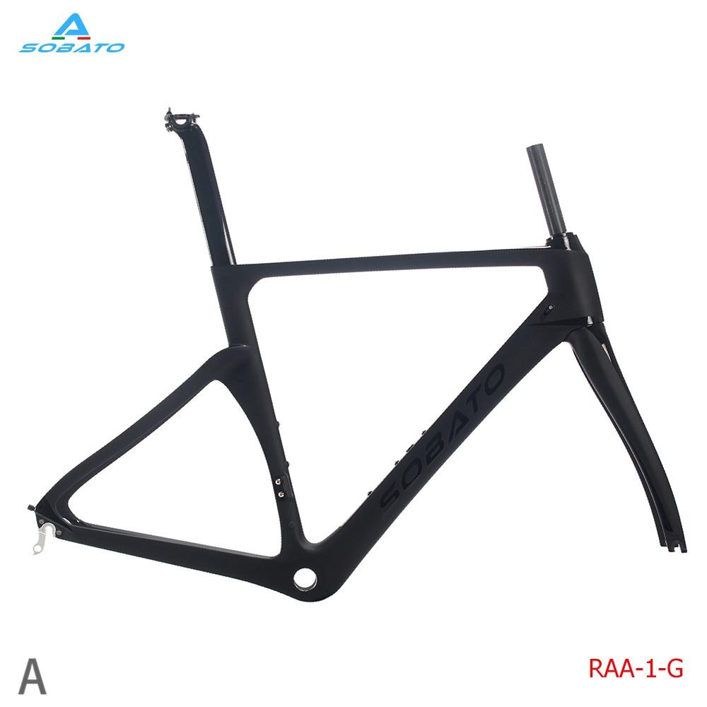 54CM BSA 2018 Newest frame!!carbon road frame bike parts carbon ...