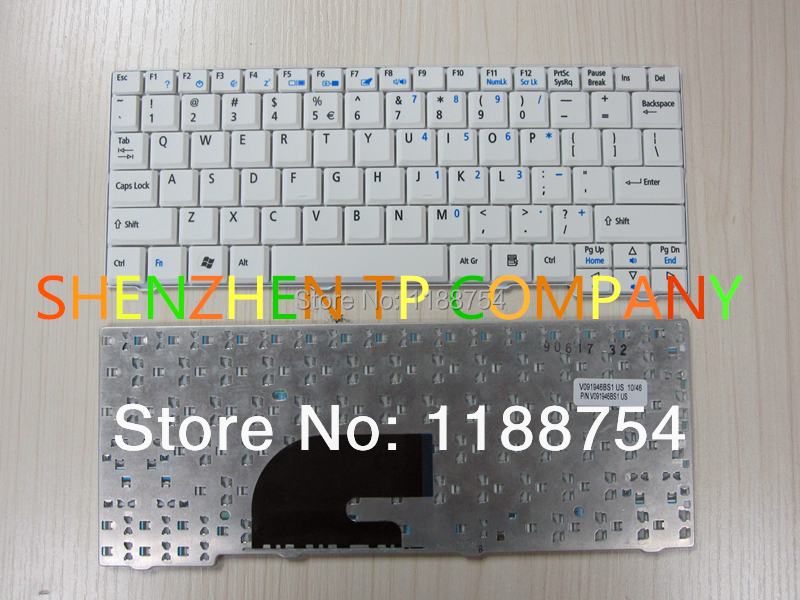 Brand New Laptop Keyboard For Acer Aspire One Zg5 D150