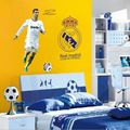 Football star Cristiano Ronaldo Vinyl Wall Stickers For Kids Rooms Boys Girls Removable PVC Home Decor Wall Classical Decals