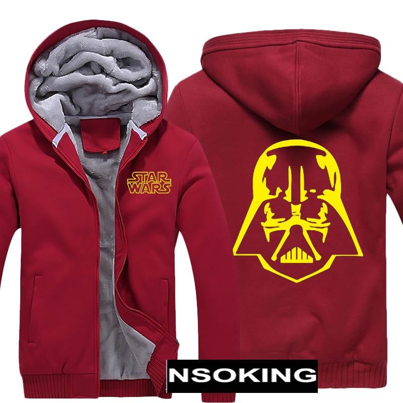 Vestes d'hiver et manteau Star Wars sweat à capuche Sith/I am votre père épaissir chaud hommes Sweatshirts 6 style - 3