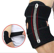 1PCS Adjustable Elbow Support Pads With Spring Supporting Codera Protector Sports Safety For Ciclismo Gym недорого