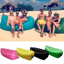 Beach Portable Outdoor Inflatable Chair Furniture Sofa Sleeping Camping Air Sofa Bed Lazy bed Living Room Furniture X277