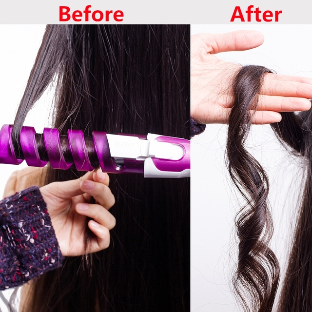 Ceramic Styling Tools professional Hair Wavy Curling Iron Hair waver  Electric Hair Curler Roller Curling Wand