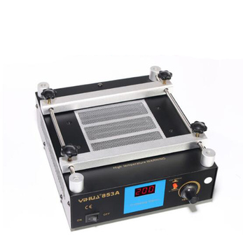 YIHUA 853A Anti Static Bga Rework Station Mobile Phone Preheat Station Electric Soldering Irons