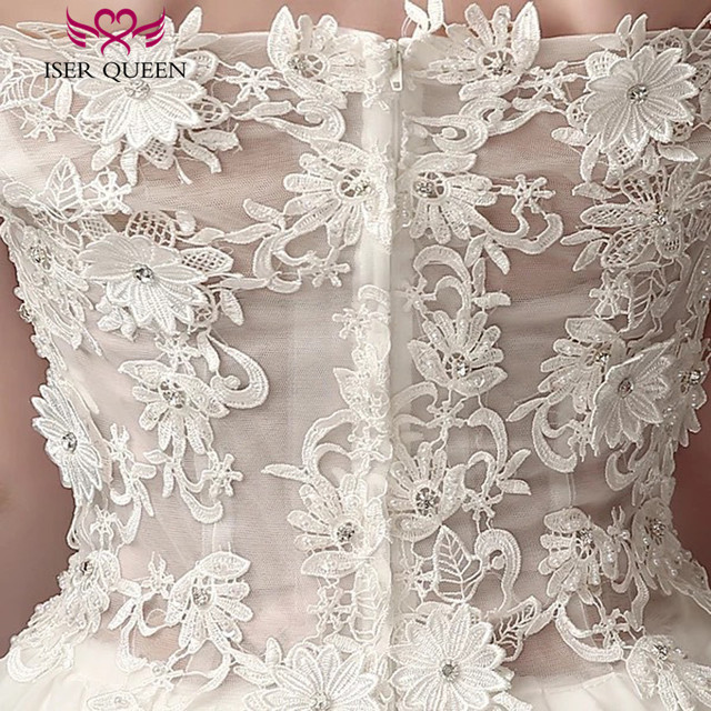Cap Sleeve Embroidery Appliques Short Beach Wedding Dresses Off Shoulder High/Low Bohemian Wedding Dress 2018