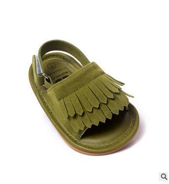f83754b16 طفلة و الفتيان شرابة الصنادل الرضع طفل لينة أحذية أطفال الصنادل الطفل طفل  الفتيات الأحذية الأخفاف الأطفال moccs 2016