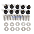 5mm Rubber Rawl Nuts Wellnuts & Stainless M5 Bolts Wheelarch & Washers For Elise VX220 VX 220