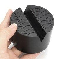 Car Jack Pad Adapter Hydraulic Black Jack Disk Slotted Frame Rail Floor Car Jacks Tool