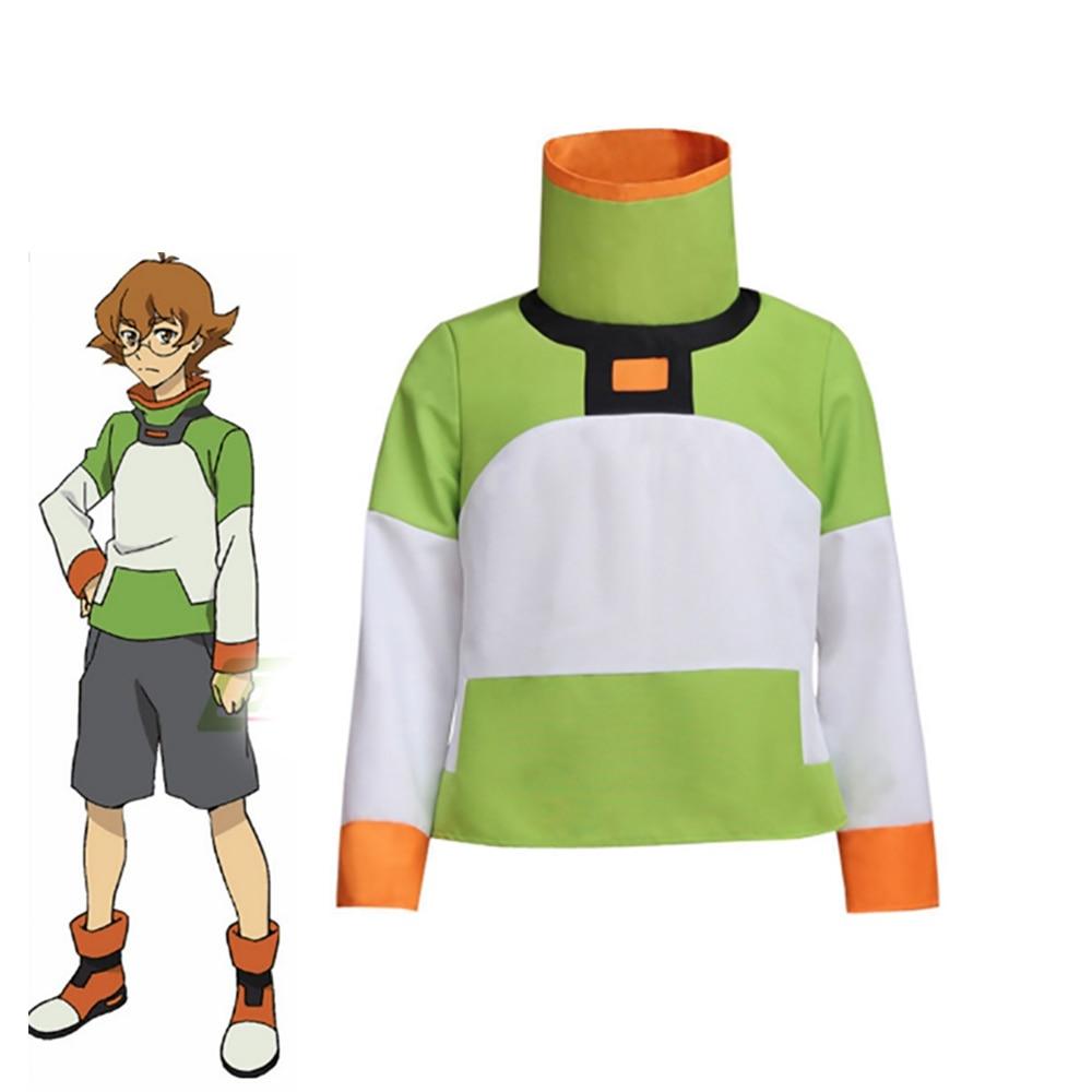 2017 New American Cartoon Voltron: Legendary Defender Pidge Cosplay Costume Halloween Carnival Unisex Uniform Adult Coat Jacket