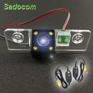 For Skoda Octavia 2008-2013 HD Car CCD 4 LED Night Vision Reverse Backup Parking Waterproof Rearview Reversing Rear View Camera