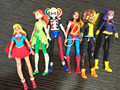 6 pcs/lot DC COMICS Designer Series 14CM Supergirl / Suicide Squad Harley Quinn PVC Action Figure Collectible Model Toy
