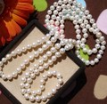 Real Pearls, Freshwater Pearl Necklace Hot Cheap Jewelry in Nice Quality 120/160/200/260cm Long