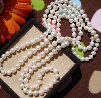 Real Pearls, Freshwater Pearl Necklace Hot Cheap Jewelry in Nice Quality 120/160/200/260cm Long - DISCOUNT ITEM  5 OFF Jewelry & Accessories