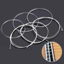 6 teile/satz Gitarre Saiten Nylon Silber Super Licht Plating set für Klassische Akustikgitarre instrument werkzeug s5