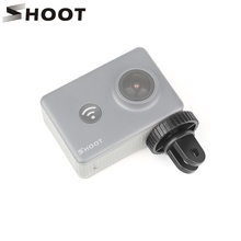 SHOOT Action Camera Mini Tripod Adapter With 1 4 Screw Mount for GoPro Hero7 6 5