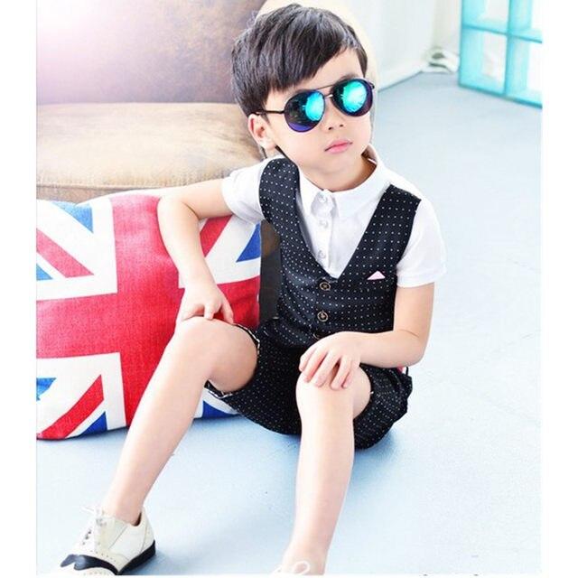 Online-Shop Mode Jungen Gentleman Party Hochzeit Kleidung Sommer Top ...