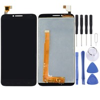 High Quality LCD Screen and Digitizer Full Assembly Lcd Replacement Glass For Alcatel One Touch Idol 2 / 6037 With Tools