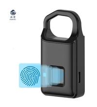 P4 Smart Keyless Fingerprint Lock For Car Motorcycle Bike Waterproof Security Anti-theft Door Suitcase Luggage Bag lock