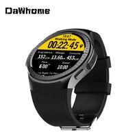 Спортивные Смарт часы DaWhome для Android ios MTK2503, частота сердечных сокращений 2G, Wi Fi, Bluetooth, вызов 0,2 м, камера, TF карта