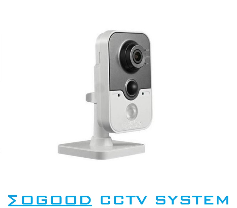 Hikvision Multi-language Version DS-2CD3410FD-IW  1MP CCTV IP Camera Mini Support WiFi / PoE Family Baby  Security Camera цена 2017