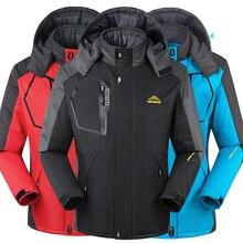 Winter männer Wasserdichte Jacke Frauen Outwear thermische jacke und mantel thick outwear Windbreake warme jacken 8XL, YA367