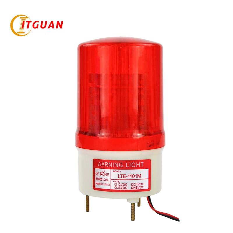 LTE-1101M DC AC12V-380V Led Avertissement Lumière LED Simulé Rotatif  Avertissement Lampe Alarme attention gyrophare avertissement lumière a3a72a1265c