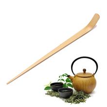 18cm pałeczki do herbaty narzędzie ręcznie bambusowe Chashaku Matcha miarka Retro japońska zielona herbata ceremonia Matcha miarka tanie tanio Haodeba CN (pochodzenie) BAMBOO