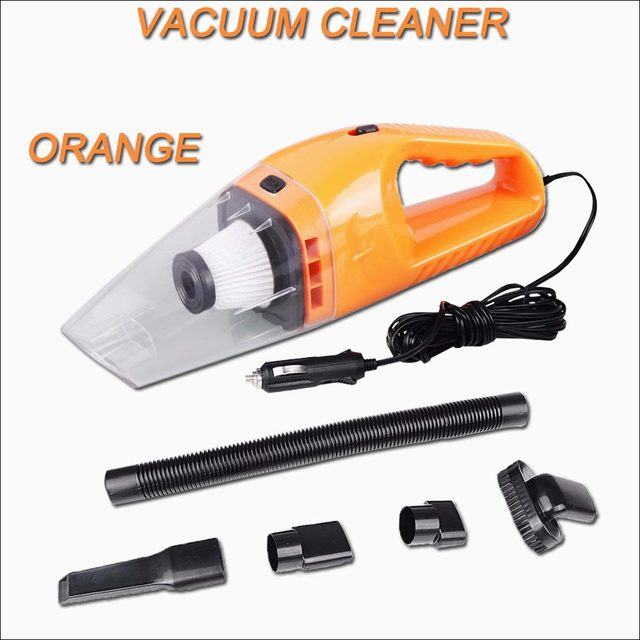 Car Vacuum Cleaner Portable 5M 120W 12V Auto Accessories Handheld Mini Super Suction Wet And Dry Dual Use Vaccum Cleaner For Car