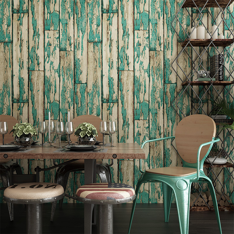 Chinese vintage wall paper waterproof pvc wallpapers 3d for Waterproof wallpaper for walls