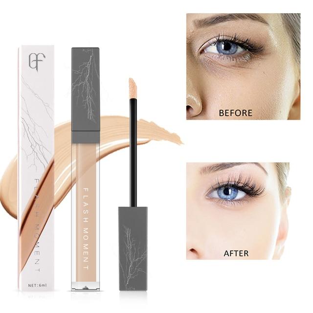 Pudaier 6 ml iluminar los poros maquillaje corrector cara cubierta círculo oscuro punto Base hidratante labios corrector de ojos cosméticos