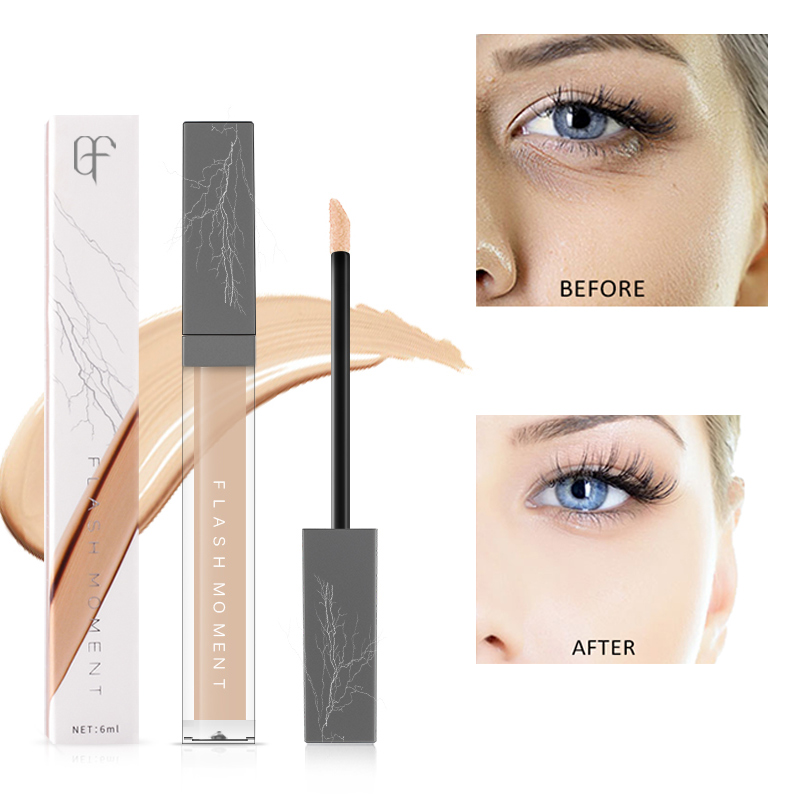 Pudaier 6ml Brighten Pores Makeup Face Concealer Cover Dark Circle Spot Base Foundation Moisturizer Lip Eye Concealer Cosmetic image