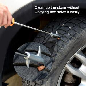 Image 5 - Car Tire Cleaning Hook Repair Tools Auto Tyre Protector Groove Stones Remover Hooks