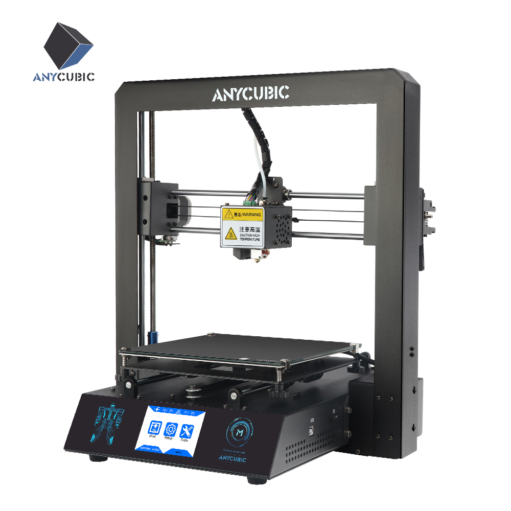 Anycubic I3 Mega Cheap 3D Printer Kit PLA Filament Full Metal Frame Plus Size Touch Screen