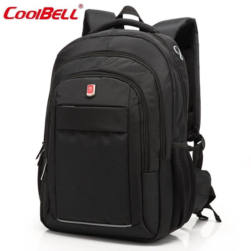 Прохладный Белл бренд большой Водонепроницаемый Мужчины Женщины ноутбук рюкзак notobook  ...