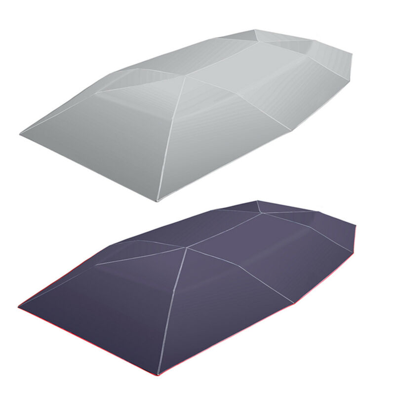 4X2.1M Car Protection Umbrella Oxford Cloth UV Resistant Foldable Car Tent Roof Cover Waterproof Car Umbrella Sun Shade Cover