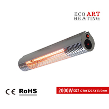 цена на 2000W Silver Infrared Heating Patio Heater Outdoor Panel Strip Heater