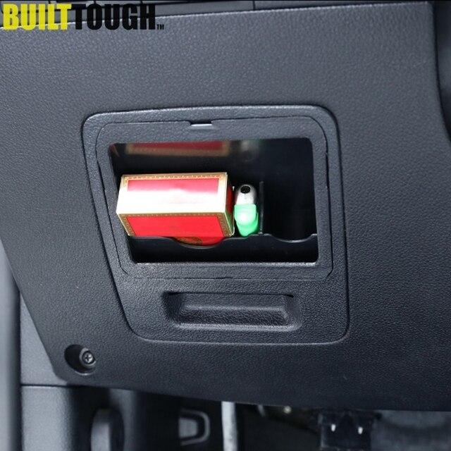 car fuse box coin container card slot for kia sportage lhd 2010-2015 holder  container organizer coin box bin auto accessories