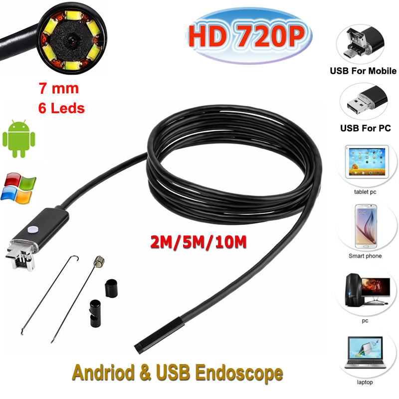 Micro USB Endoscope for Android Phone and PC Stardot 7mm Dia 6LED IP67 Inspection Camera Android Endscope Camera zhinan zhou windows phone 7 programming for android and iphone developers