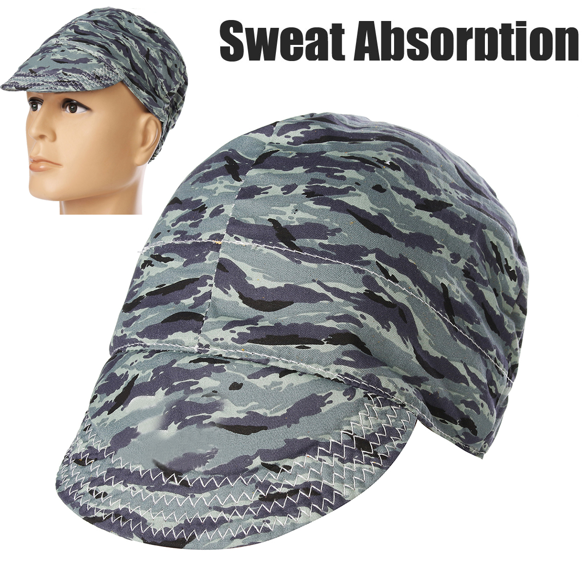 Sweat Absorption Welding Cap Hat Flame Retardant Cotton Application to Welding Protection Workplace Safety Welding Helmets