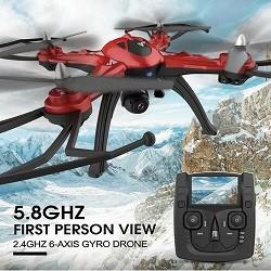 Commander drone cadeau et avis drone compatible gopro