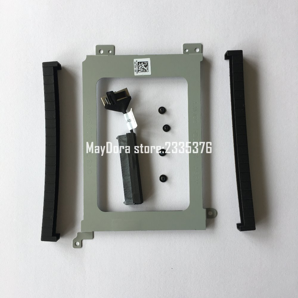 NEW For Dell Precision M5510 & XPS15 9550 HDD Hard Disk Drive Interposer Connector Cable +hard disk drive holder Send screws new laptop keyboard for dell xps 13 9343 9350 9550 backlit uk layout