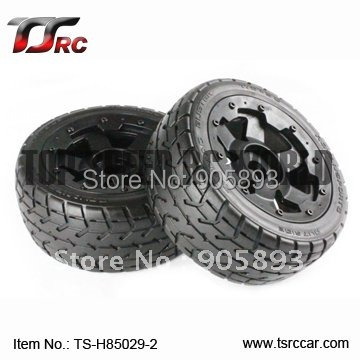 цена на 5B Rear Highway-road Wheel Set (TS-H85029-2) x 2pcs for 1/5 Baja 5B, SS  , wholesale and retail