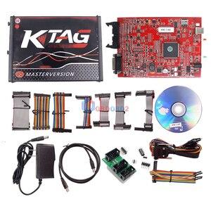 Image 4 - جهاز برمجة KESS V5.017 V2.53 + 4 LED KTAG V7.020 V2.23 لا يوجد رمز KESS 5.017 + K TAG K Tag 7.020 4 وحدة تحكم في الماكينة مع DHL Free