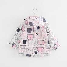 Baby Girls Trench Coat 2018 Spring Flower Girls Jacket For Girls Windbreaker For Boys Kids Outerwear Coat Children Clothes