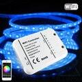 16 Milhões de cores Wi-fi 5 canais RGB/WW/CW levou controlador controle do smartphone música eo modo de temporizador magia casa wi-fi levou controlador