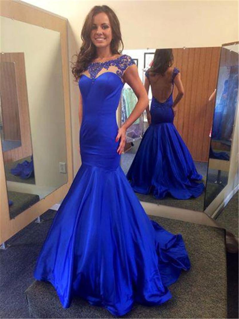 royal blue evening dress - Gowns and Dress Ideas