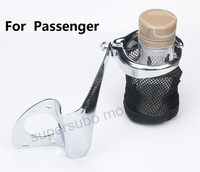 Motorcycle Rear Drink Cup Holder Passenger For Harley Electra Road Tri Glide FLHTCU chromed iron